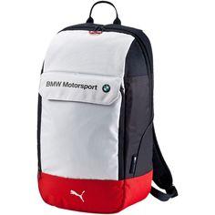puma bmw backpack silver