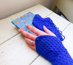 Crochet fingerless gloves Crochet wrist by SixthandDurianGifts
