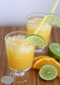 Fuzzy Navel Mocktail Recipe - Sober Julie