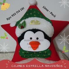 Christmas Applique, Christmas Pillow, Felt Christmas, Christmas Stockings, Christmas Holidays, Christmas Wreaths, Christmas Decorations, Christmas Ornaments, Holiday Decor