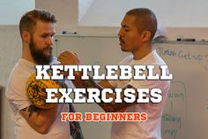 A kettle bell is basically a bell that sort of looks like a bowling ball , .. http://www.fitbys.com/kettle-bell-exercises-for-beginners/