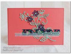 Thinlits flower stampin up papierciseauxetcie flourish