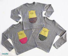 NOBALE BLOG  Unisex T-shirt + patchwork application  Camiseta unisex manga corta + aplicación patchwork  Camiseta unisex màniga llarga + aplicació patchwork  -----------------------------------------------------------------  Fet a mà / Handmade / hecho a mano  Talles / sizes: 2-3 / 3-4 / 4-5 / 5-6 years
