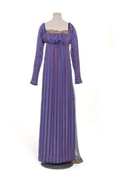 """Evening dress """"1811"""", silk, Paul Poiret designer, French, 1907"""
