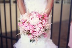 Pink Couture Bouquet- Roohi Photography