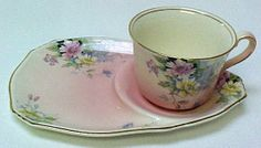 "Royal Winton "" Rosa"" Cup & Tray"