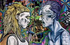 Die Antwoord Art Print Die Antwoord, Yolandi Visser, Gene Simmons, Fails, Ninja, Art Projects, Joker, Fanart, Wicked