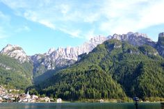 Alleghe in the heart of the Dolomites