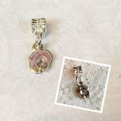 Baby Feet Bracelet Charm personalized with your flower petals