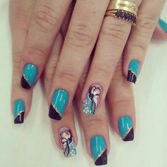 Essas unhas são um arraso da seguidora @luciene_medeiros siga @viciadas_nails , @peliculas_viciadas_nails e suas unhas poderam aparecer aqui Marque #viciadas_nails em suas fotos!!! #esmalte #unhas...