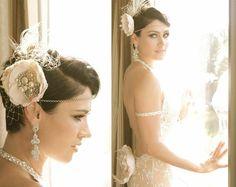 Peinados para novias 2016 con el pelo corto: Fotos