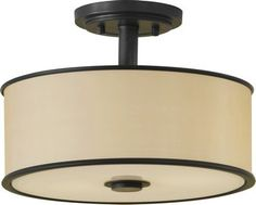 LightingandFanPros | 2-Light Casual Luxury Semi Flushmount