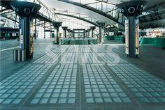 Leipzig Airport | Gallery Gallery | Seves glassblock