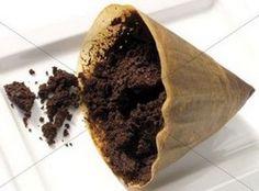 Om katten en slakken op een natuurlijke manier uit je tuin te houden koffiedik op de uitstrooien in de tuin.
