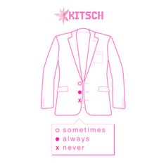 #ButtonBusiness – Men, do you know what to do with your Blazer buttons? Well, don't fret, we've got it covered. http://www.kitsch.in/