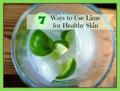 Lime is full of powerful nutrients that make it perfect for natural skin care. Take a look at these seven ways to use lime for healthy skin and a glowing complexion. In fact Lime's astringent, antiseptic, and disinfectant qualities are great for treating oily and acne-prone skin.