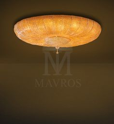 ΜΑΥΡΟΣ -- Classic ceiling lamp with Murano crystal leaves | CASTELLO