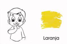 Arquivo apos.cores.doc enviado por Adriano na Unifebe. Sobre: é uma atividade e com a imagem das cores em libras Projects To Try, Snoopy, Fictional Characters, 1, Sign Language, Colouring In, Alphabet, All Alone, Languages