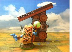 Recreate your Skyland with this paper Ballista!