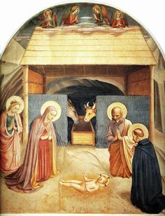 Fra Angelico 1387-1455 Nativity 1441.