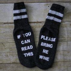 Wine Socks - If You