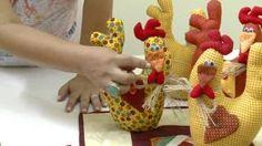 Mulher.com 03/03/2014 - Porta peso de galinha