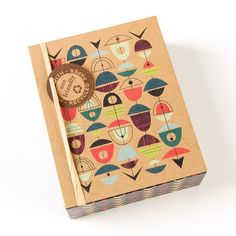 Modern Mid Century Boxed Notes (Set of 16)