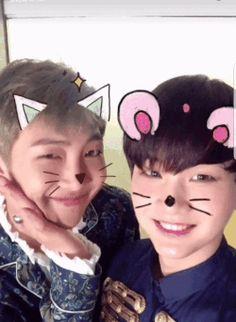 God damnit Min Yoongi Oppa why are you so cute ft. an adorable Namjoon