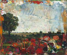 "Saatchi Online Artist Thomas Edetun; Painting, ""all the flowers...."" #art"