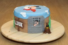 Lucky Luke Dalton Lucky Luke, 8th Birthday, Birthday Parties, Sugar Paste, Party Ideas, Film, Cooking, Cake, Desserts
