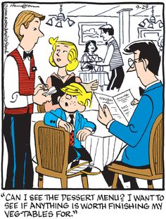 Dennis The Menace | Hank Ketcham's Classic Comic