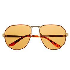 Designer Style Mens Womens Square Metal Aviator Sunglasses A1330