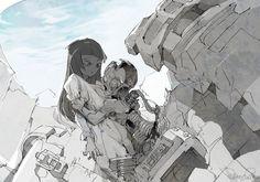 出水ぽすか(ポ~ン)(@DemizuPosuka)さん | Twitter Character Art, Character Design, Cyberpunk, Art Tutor, Grafiti, Anime Scenery, Cool Sketches, Fantasy Illustration, Dope Art