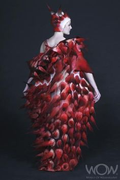 Skin, Marjolein Dallinga, Canada.  Award winner at World of Wearable Art, New Zealand.