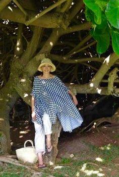 Karen Kirishima Street Beat, Tights Outfit, Older Women, Smocking, Gingham, African, Clothes For Women, Stylish, My Style