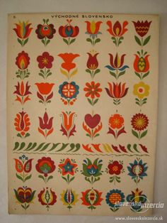 Buy the book Slovak ornamentation. Classifieds - Books, Other books. Hungarian Embroidery, Folk Embroidery, Embroidery Patterns, Folk Art Flowers, Flower Art, Flower Ideas, Tole Painting, Painting & Drawing, Bordado Popular