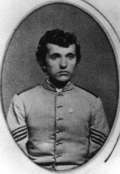 """First student (1872): Sixteen-year-old William Addison """"Add"""" Caldwell and his older brother, Milton """"Mic"""" Caldwell, walked as many as 28 miles across two mountains from their home in Craig County, Virginia, to Blacksburg. The first student to enroll at Virginia Agricultural and Mechanical College (today's Virginia Tech) when the new school opened its doors on Oct. 1, 1872, Add was nominated for a state scholarship that covered his $30 tuition, $10 college fees, and $5 unfurnished room."""