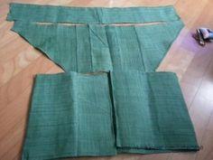 초록이 이쁜 자연염색 모시를재단하고 손바느질로 이어 붙여 고운 모시 조끼를 만들었어요 한올한올 올올이... Dress Sewing Patterns, Clothing Patterns, Simple Outfits, Simple Dresses, Japan Fashion Casual, Diy Old Jeans, Japanese Sewing, Kimono Fabric, Loose Shirts