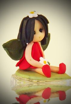 August baby fairy by fairiesbynuria on Etsy, $12.00