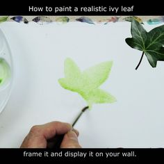 How to paint a realistic ivy leaf, a completely FREE step-by-step watercolor tutorial. Learn to paint realistic leaves in simple, easy to follow stages. Work alongside me or watch the painting and then fly solo! . #PaulHopkinson #TheDevonArtist #howtopaintleaves #ivyleaf #christmascards #handmadecards #handpaintedcards #freetutorial #freelesson #watercolor #watercolour #leafpainting #realisticleaves Leaves Illustration, Botanical Illustration, Hand Painted, Step By Step Watercolor, Realistic, Watercolor Paintings, Watercolor Artist, Painting, Watercolor Flowers
