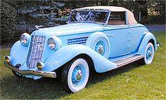 1935 Auburn 653 Dual Ratio Cabriolet