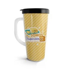Vasito viajero – Como pan y mantequilla, encuentra este producto en nuestra tienda online. Travel Mug, Mugs, Tableware, Vase, Siempre Contigo, Store, Dinnerware, Tumblers, Tablewares