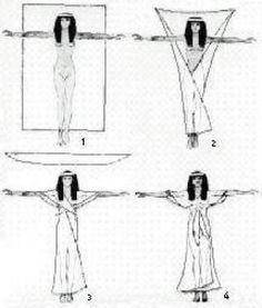 Древнеегипетский наряд