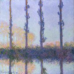 Claude Monet: The Four Trees (29.100.110)   Heilbrunn Timeline of Art History   The Metropolitan Museum of Art