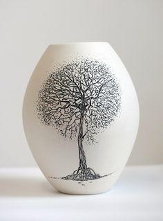 *Ceramic Vase by Eunice Botes