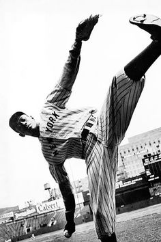 Satchel Paige. Guy told his OF to sit down with the bases loaded and a full count. Next pitch he struck the batter out.