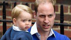 Der kleine Prinz George mit akkuratem Seitenscheitel - und nun auch mit Schwesterchen.