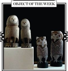 """Object of the Week   2nd Oct 2014   JUDY MANANY & MEGAN DJURAMALWUY YUNUPINGU """"WORRWURR""""   Ochre and fixative on wood http://www.rebeccahossack.com/exhibitions/62/overview/"""