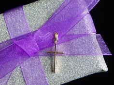 Vintage 14K Gold Cross Pendant - Visit my Etsy shop: www.etsy.com/shop/AyQueBella
