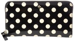Kate Spade New York Carlisle Street Lacey Wallet,Black/Beige,One Size kate spade new york,http://www.amazon.com/dp/B007PRXRDS/ref=cm_sw_r_pi_dp_Zm5ktb1HG1RCT8GS